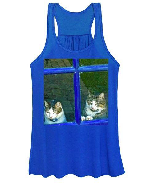 Cats On Baylor Street Women's Tank Top