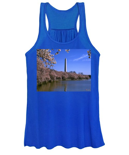Cherry Blossoms On The Tidal Basin 15j Women's Tank Top