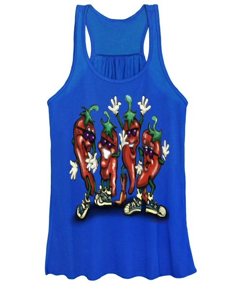Chili Peppers Gang Women's Tank Top
