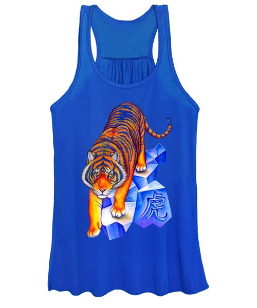 Chinese Zodiac - Year Of The Tiger Women's Tank Top