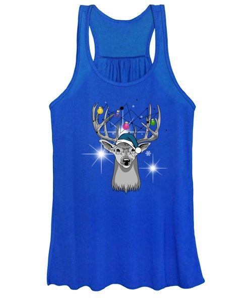 Christmas Deer Women's Tank Top