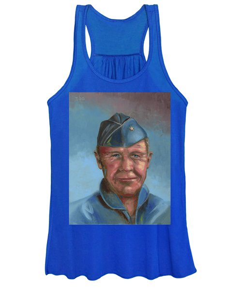 Chuck Yeager Women's Tank Top
