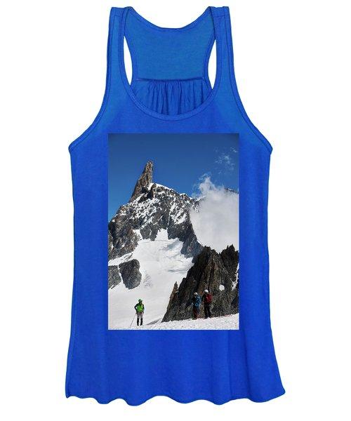 Climbing In The Alps Women's Tank Top