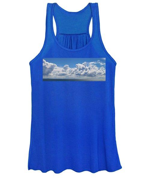 Clouds Over Catalina Island - Panorama Women's Tank Top