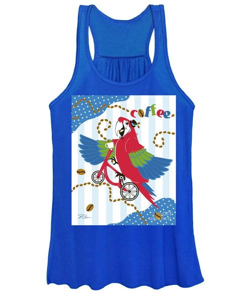 Coffee Parrot Women's Tank Top