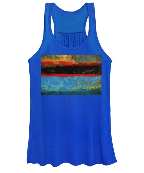 Color Abstraction Xxxix Women's Tank Top