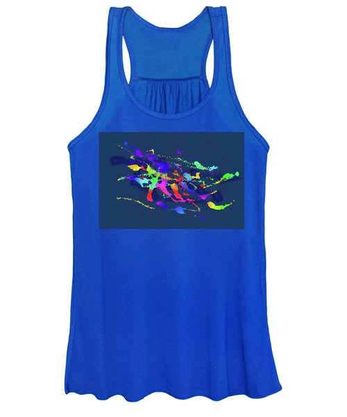 Color Chaos Women's Tank Top