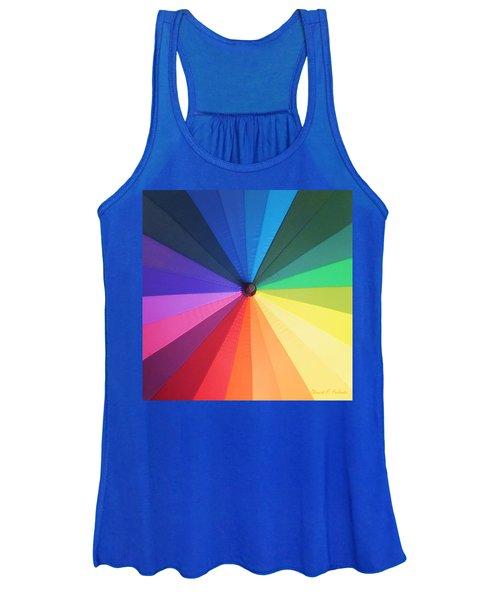 Color Wheel Women's Tank Top
