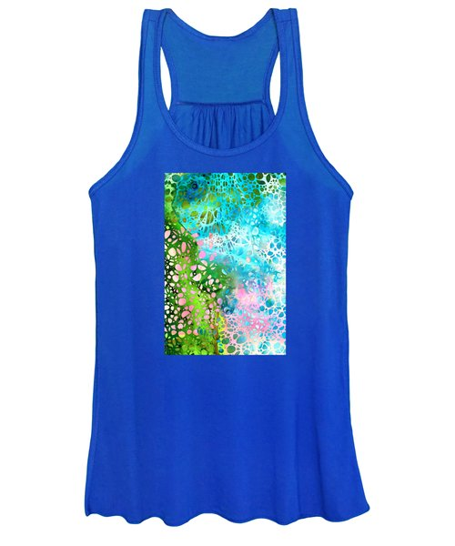 Colorful Art - Enchanting Spring - Sharon Cummings Women's Tank Top