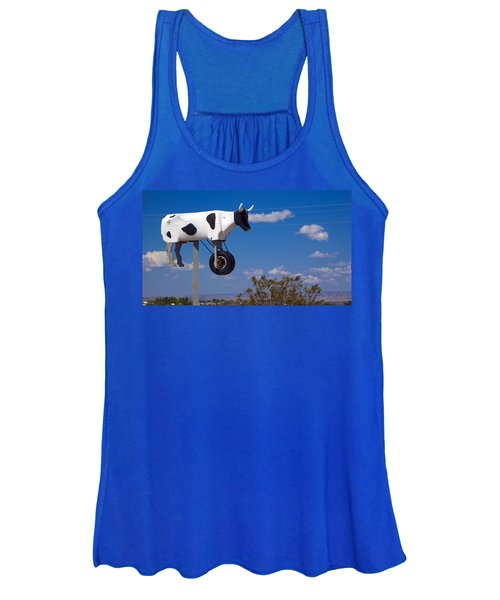 Cow Power Women's Tank Top