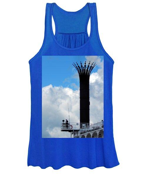 Crowned Clouds Women's Tank Top