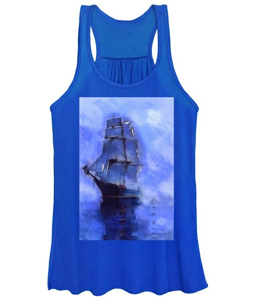 Cruising The Open Seas Women's Tank Top