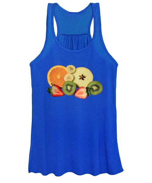 Women's Tank Top featuring the photograph Cut Fruit by Shane Bechler