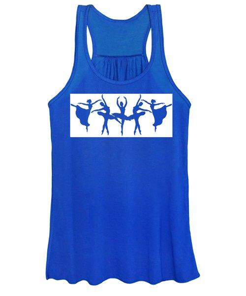 Dancing Silhouettes  Women's Tank Top