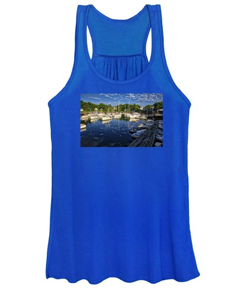 Dawn At Perkins Cove - Maine Women's Tank Top