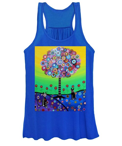 Day Of The Dead Cat'slife Women's Tank Top