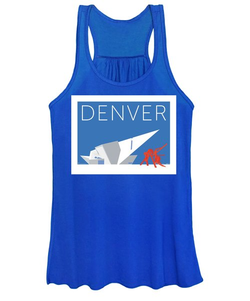 Denver Art Museum/blue Women's Tank Top