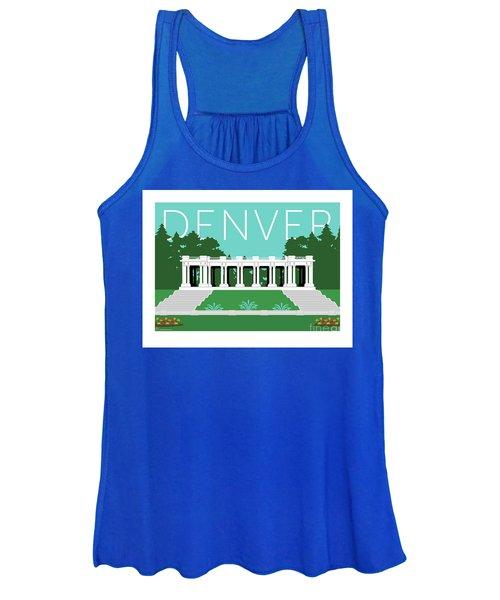 Denver Cheesman Park/lt Blue Women's Tank Top