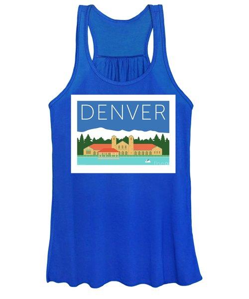 Denver City Park/blue Women's Tank Top