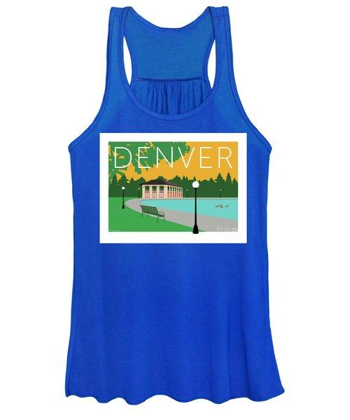 Denver Washington Park/gold Women's Tank Top