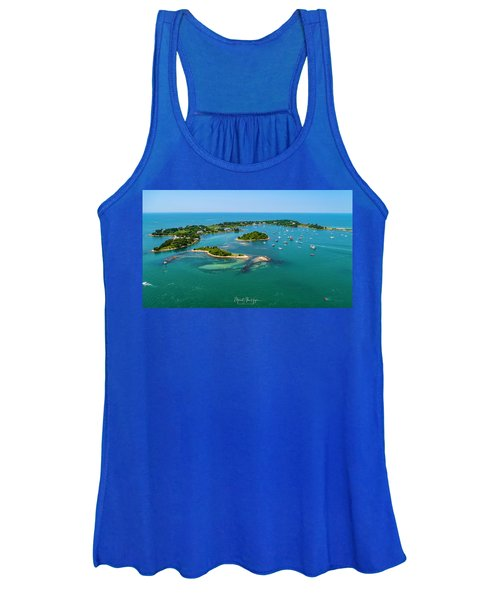 Devils Foot Island Women's Tank Top