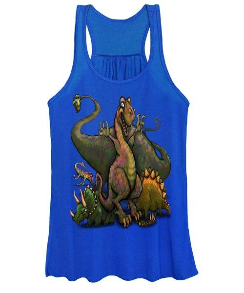 Dinosaurs Women's Tank Top