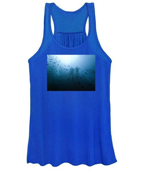 Diving With Fishes Women's Tank Top