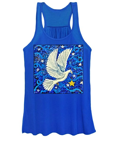 Dove With Star Women's Tank Top