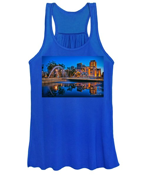 Downtown San Diego Waterfront Park Women's Tank Top