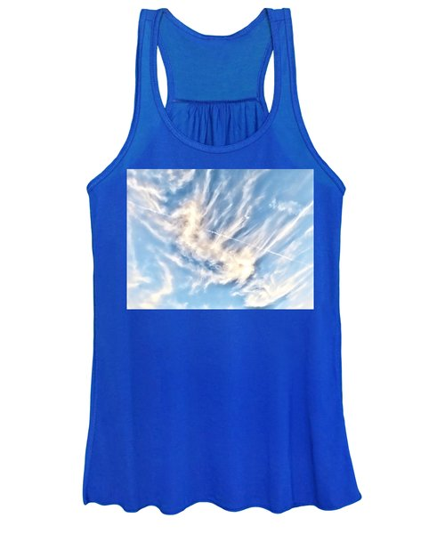 Dragon In The Flight Path Women's Tank Top