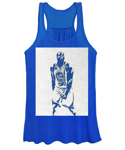 Draymond Green Golden State Warriors Pixel Art Women's Tank Top