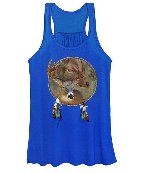 Dream Catcher - Spirit Of The Deer Women's Tank Top