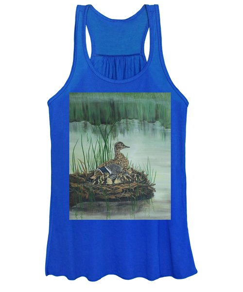 Ducks In Lifting Fog Women's Tank Top