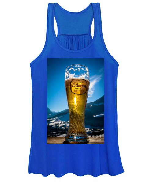 Edelweiss Beer In Kirchberg Austria Women's Tank Top