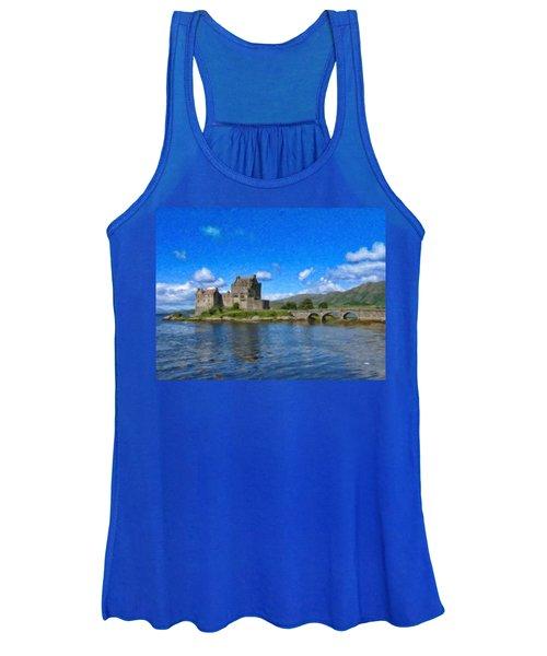 Eilean Donan Castle - Sct671252 Women's Tank Top