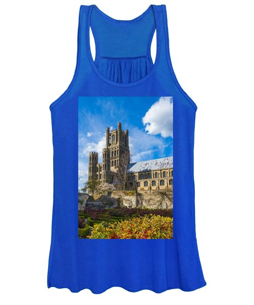 Ely Cathedral And Garden Women's Tank Top