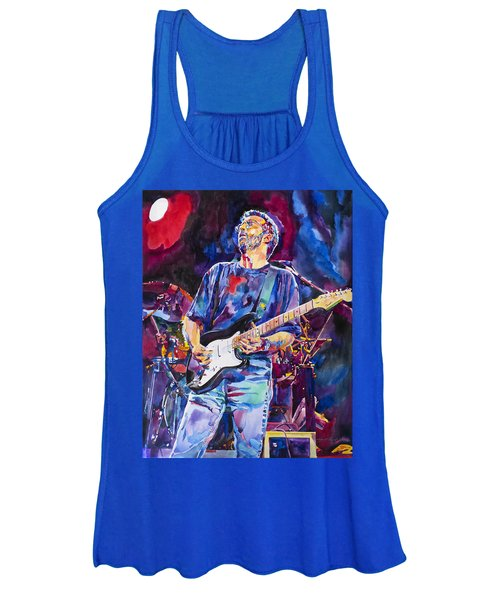 Eric Clapton And Blackie Women's Tank Top