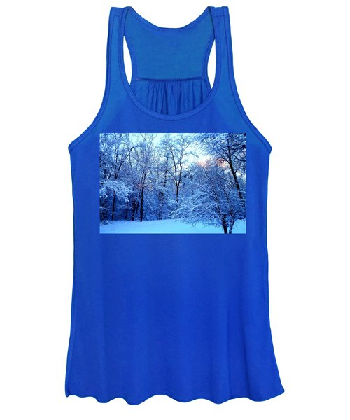 Ethereal Snow Women's Tank Top
