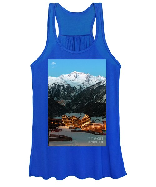 Evening Comes In Courchevel Women's Tank Top