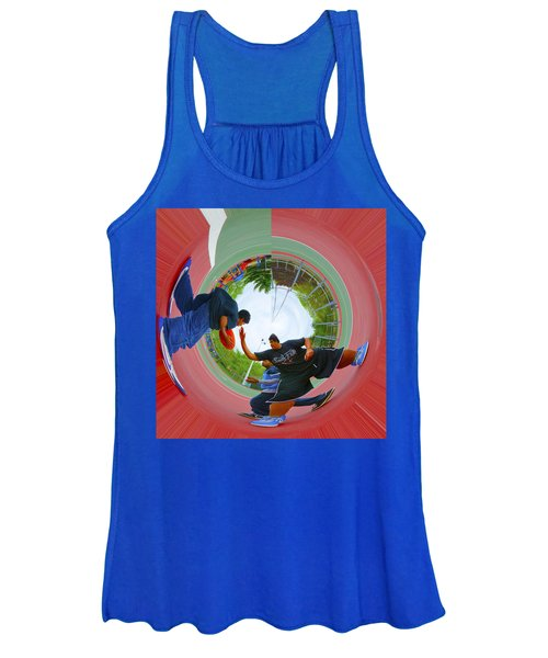 Extreme Pick Up Basketball Women's Tank Top