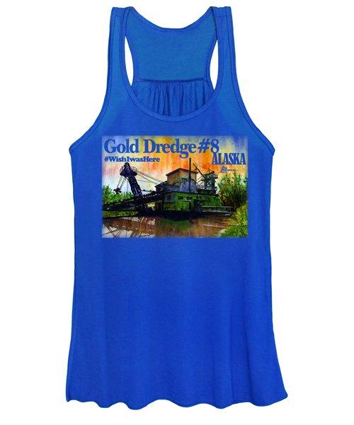 Fairbanks Alaska Gold Dredge 8 Shirt Women's Tank Top