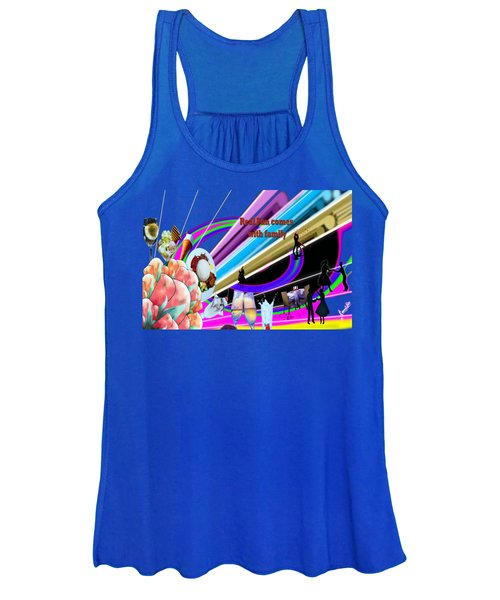 Family Dinner And Fun Time  Women's Tank Top