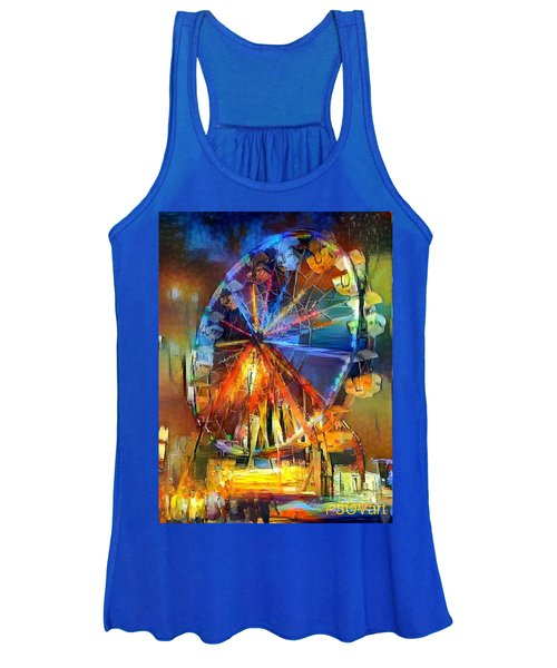 Ferris Wheel 1 Women's Tank Top