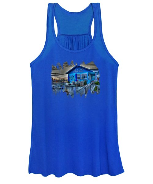 Fish And Chips Chowder House Women's Tank Top