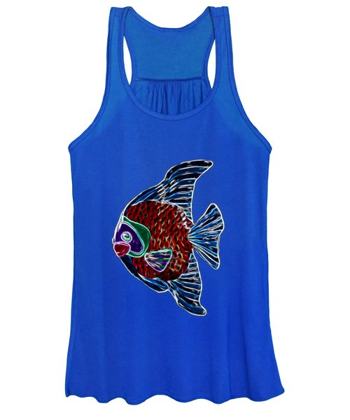 Women's Tank Top featuring the photograph Fish Tales by Shane Bechler