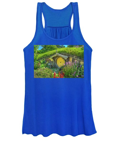 Flowers In The Shire Women's Tank Top