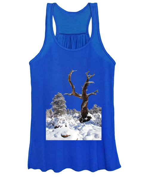 Women's Tank Top featuring the photograph Fresh Snow by Shane Bechler