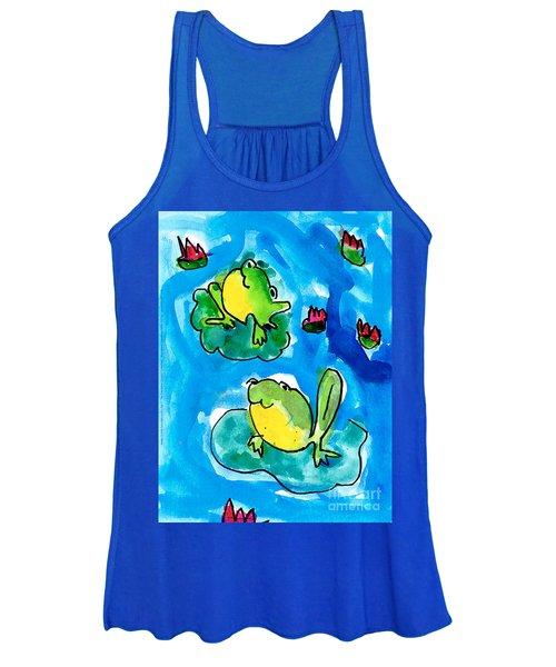 Frogs Women's Tank Top