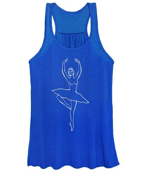 Frozen Dance Ballerina Women's Tank Top