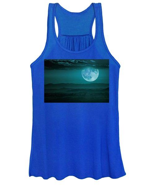 Full Moon Over Tuscany Women's Tank Top
